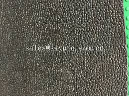 rough surface textured rubber flooring sheet roll multi layer