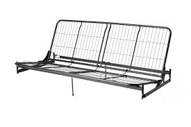Ikea Metal Bunk Bed Futon Amazon Com Walker Edison Twin Over Futon Metal Bunk Bed