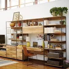 Modular Home Office Desk Industrial Modular 49 Desk West Elm