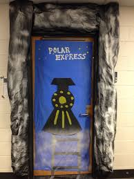 59 best polar express images on decorated doors