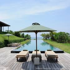 chambre d hote bali la piscine à débordement de ma villa bulung daya à bali thibault