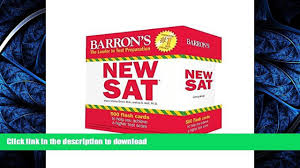 read book barron s new sat flash cards 3rd edition 500 flash