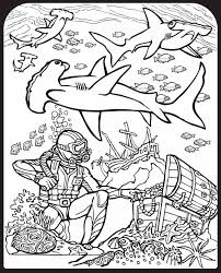 Shark Pictures To Colour In Kids Coloring Coloring Pages Sharks Printable