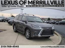 lexus lx for sale merrillville lexus lx 570 vehicles for sale at lexus of