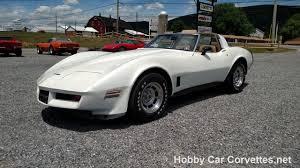 pearl white corvette 1981 pearl white corvette saddle interior 50k