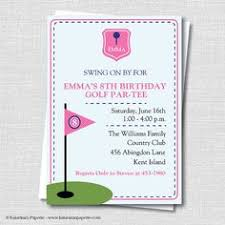 custom birthday invitations golf theme custom birthday invitation by embellishedpaperie golf