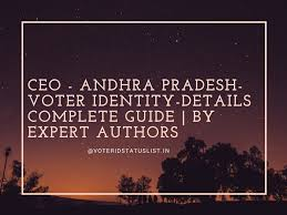 write fir for lost any id card police check voter id