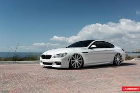 bmw slammed vossen wheels bmw 6 series m6 vossen cv4