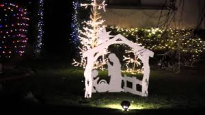 christmas tree lane ceres california dec 2013 youtube
