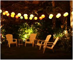 backyards superb image of cute outdoor party string lights 18