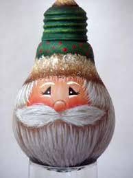 painted light bulb here s a free original santa design