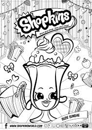 shopkins 4 season coloring pages printable get coloring pages