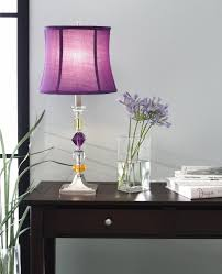 purple bijoux table lamp lamps for bedrooms amazon com