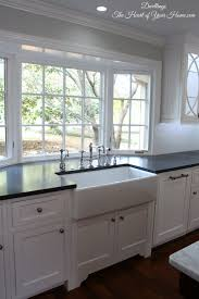 Kitchen Window Treatments Ideas Pictures Dwellings The Heart Of Your Home Kitchen Tour Our New Farmhouse