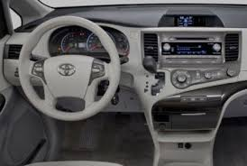 2015 Toyota Sienna Interior 2015 Toyota Sienna Redesign Changes Futucars Concept Car Reviews
