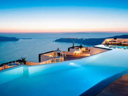 9 breathtaking infinity pools booking com hotel grace santorini greece