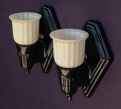 vintage bathroom light sconces vintage black porcelain wall sconces with shades vintage bathrooms