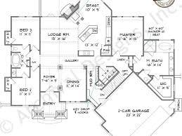 walkout house plans basement house plans ranch walkout basement