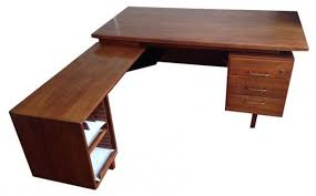 leon mid century desk angelo home leon mid century desk free shipping today pertaining to