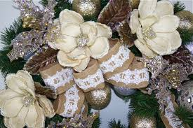 burlap and lace wreath 30 inch