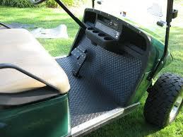 golf cart replacement floor mats pattern rubber