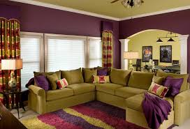 Inspiration  Living Room Decor Purple Design Decoration Of - Best living room decor