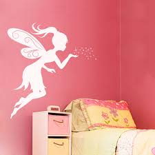 Wall Decals For Girls Bedroom Fairy Kisses Wall Decal