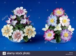 aynsley bone china ornaments modelled stock photo
