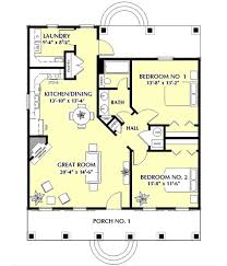 A 1 Story House 2 Bedroom Design 176 Best House Plans Images On Pinterest House Floor Plans