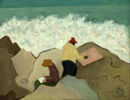 milton avery sketching by the sea 1944 on artstack