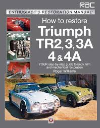 how to restore triumph tr2 3 3a 4 u0026 4a your step by step guide