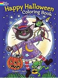 amazon halloween coloring book novelty coloring book