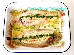 cuisiner une sole soles au four vin blanc et citron grelinette et cassolettes