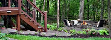 articles with deck fire pit plans tag awesome deck with fire pit
