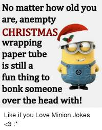 minion wrapping paper no matter how you are anempty christmas wrapping paper is