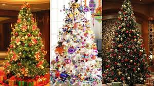 christmas tree decorated the most colorful and sweet christmas trees and decorations you