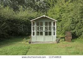 Summer House In Garden - summer house stock images royalty free images u0026 vectors
