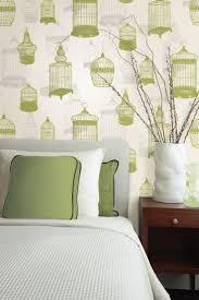 Yellow Feature Wall Bedroom 26 Best Wallpaper Bedroom Images On Pinterest Bedroom Ideas For