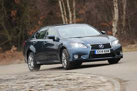 first lexus model lexus gs 450h claims victory over hyundai genesis in auto express