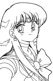 lovely sailor moon coloring pages girls womanmate