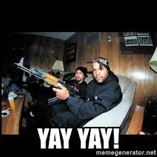 Ice Cube Meme - yay yay ice cube meme generator