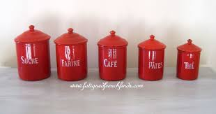 Vintage Kitchen Canister Set by 100 Red Canister Sets Kitchen Retro Kitchen Canisters