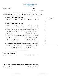 exponents worksheets pdf worksheet exponent gcf divisibility pre algebra