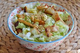 cuisiner choux chinois recette salade de chou chinois au poulet menu by menu