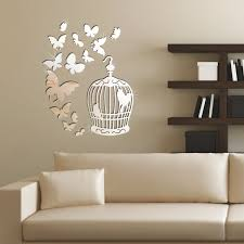 Cool Wall Decals by Mirrored Wall Decals Stickers Home Decorating Ideas U0026 Interior