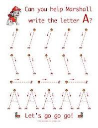 preschool line tracing worksheet fine motor writing cutting