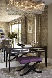 best 25 mirror walls ideas on pinterest scandinavian wall a feature wall in antique mirror glass love the desk the chandelier 3
