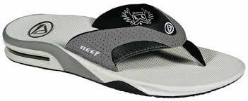 mens reef fanning flip flops sale reef fanning sandal grey glow for sale at surfboards com 284256
