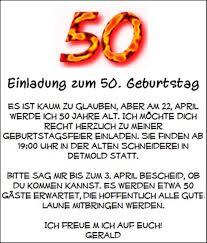 lustige sprüche zum 50 geburtstag einer frau 50 geburtstag einladung spruche designideen