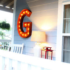 Impressive Vintage Nuance 36 U201d Letter G Lighted Vintage Marquee Letters Rustic Marquee